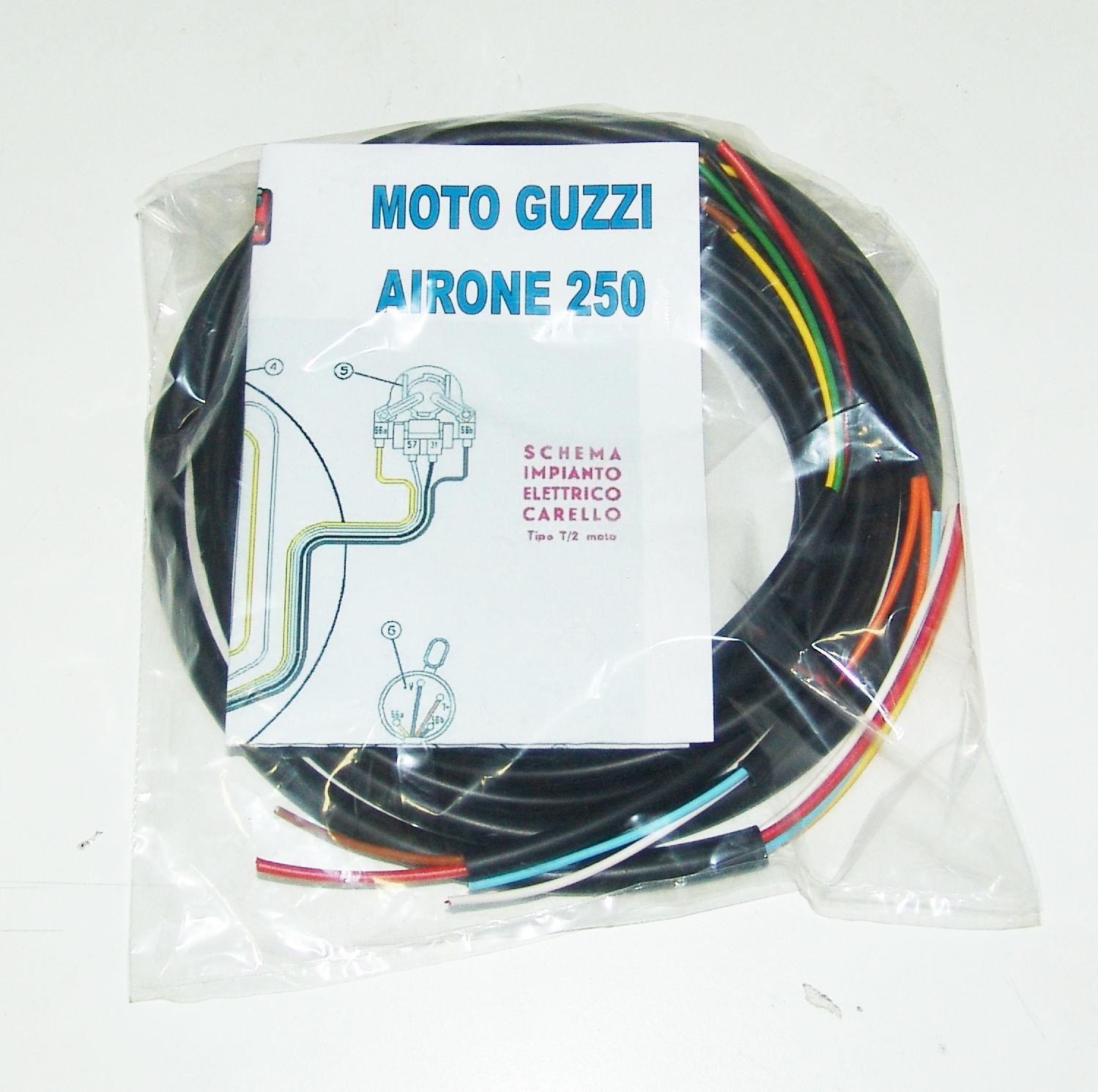 Schemi Elettrici Guzzi : Impianti elettrici moto impianto elettrico electrical wiring moto