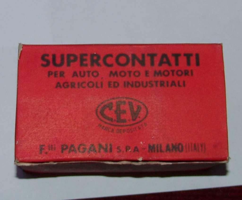 CONTATTI PUNTINE CONTACTS PINS BIANCHI ORSETTO 80 CC C.C CEV 4731 TIPO NORIS