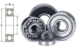 CUSCINETTO A SFERA BALL BEARING - 37 12 12 37X12X12 CU3712P